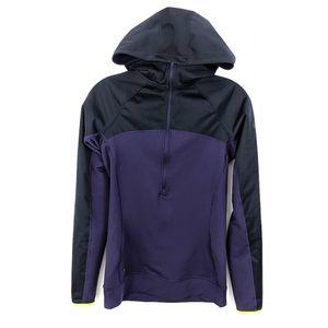Nike Pro Hyperwarm Shield Training Hoodie Purple S